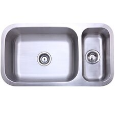 32 x 1775 double bowl undermount kitchen sink - Oliveri Undermount Kitchen Sinks
