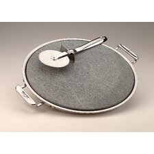 "13"" Pizza Baker with Serving Tray and Pizza Cutter"