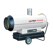 Indirect Fired 400,000 BTU Portable Propane Forced Air Utility Heater