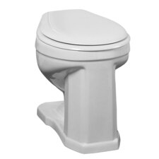 Victoria High 1.6 GPF Round Toilet Bowl