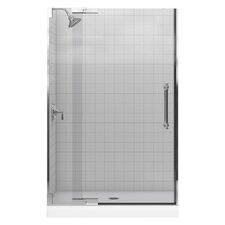 Purist 47.75 x 72.25 Pivot Shower Door by Kohler