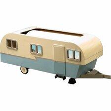 Vintage Travel Trailer Dollhouse by Greenleaf Dollhouses