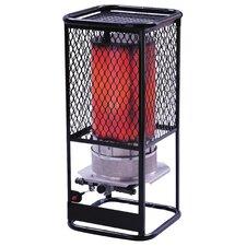 125,000 BTU Portable Natural Gas Radiant Utility Heater