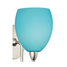 "Contemporary 4.5"" Glass Bowl Wall Sconce Shade"