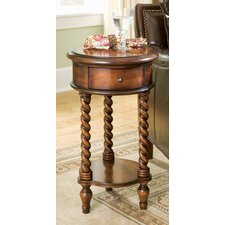 Seven Seas Inlay Top  End Table by Hooker Furniture
