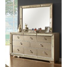 Geier 8 Drawer Dresser with Mirror by House of Hampton