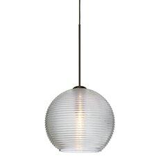 Kristall 1-Light Globe Pendant