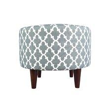 Sophia Fulton Round Ottoman by MJL Furniture