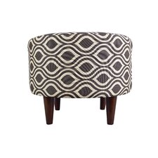 Sophia Nicole Round Ottoman by MJL Furniture