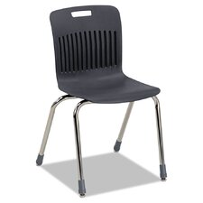 Analogy Ergonomic Stacking Chair (Set of 4)