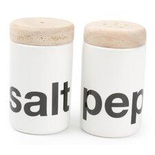Loft 2 Piece Salt and Pepper Set