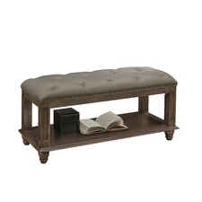 Daley Leather Storage Bedroom Bench by Darby Home Co