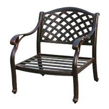 Nassau Deep Seating Chair with Cushion by Darlee
