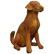 Garden Décor Sitting Puppy Statue