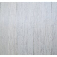 """3-5/8"""" Solid Bamboo Flooring in White"""