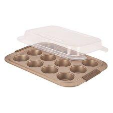 Advanced Bronze Non-Stick Muffin Pan