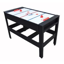 "Voit 54"" Flip Table 4 in 1 Combo Pool Table Tennis Football Push Hockey"