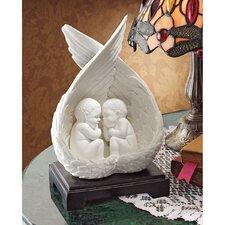 Mulholland Bonded Marble Precious Slumber Baby Angel Figurine