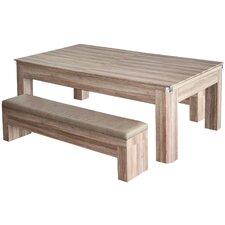 Newport 2 Piece 7' Pool Table Set