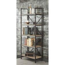 Franklin 72 Etagere Bookcase by Turnkey Products LLC
