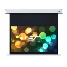 "Evanesce White 150"" diagonal Electric Projection Screen"