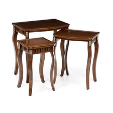 Channing 3 Piece Nesting Tables by Alcott Hill