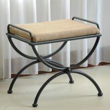 blomberg contemporary iron vanity stool - Vanity Stools For Bathrooms