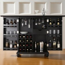 Hanoverton Bar Cabinet with Wine Storage