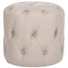 Wolstonton Tufted Round Ottoman by Darby Home Co