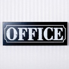 Office Sign Wall Décor