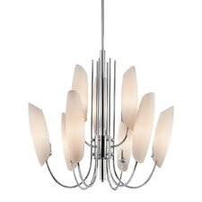 Stella 9-Light Shaded Chandelier