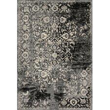 Emory Black & Ivory Area Rug