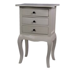Saffron 3 Drawer Nightstand