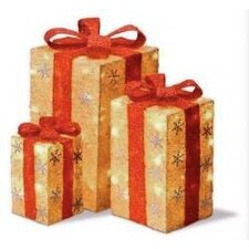 Lighted Gift Box (Set of 3)