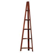 Basset Corner Ladder 72 Corner Unit Bookcase by Charlton Home