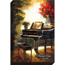 Amazing Grace Giclee by Phil Cloth Print on Wrapped Canvas