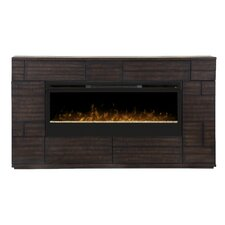 Markus Media Console Wall Mount Electric Fireplace