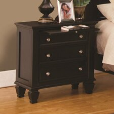Ellis 3 Drawer Bachelor's Chest by Darby Home Co®