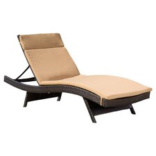 Claverton Down Outdoor Chaise Lounge Cushion (Set of 2)