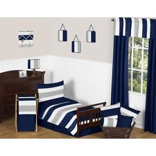 Stripe Collection 5 Piece Toddler Bedding Set