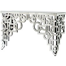 Volos Mirroed Console Table by Cyan Design