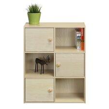 "Carraton 31"" Wood Cube Unit Bookcase"