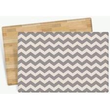 Zig Zag Design Cushion Doormat