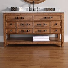 Malibu 60 Single Honey Alder Bathroom Vanity Set by James Martin Furniture