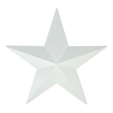 Country Rustic Star Indoor/Outdoor Wall Decoration