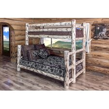 Montana Twin over Full Bunk Bed by Montana Woodworks
