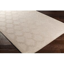Metro Riley Hand-Loomed Beige Area Rug