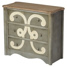 Saint-Denis 3 Drawer Chest by Lark Manor