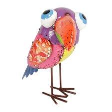 Colorful SpeckMetal Toucan Bird Figure