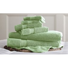 Bishopsworth 6 Piece Superior Combed Cotton Towel Set